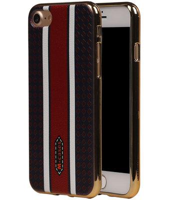 M-Cases Bruin Ruit Design TPU back case hoesje voor Apple iPhone 7