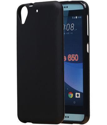 HTC Desire 650 TPU back case hoesje Zwart