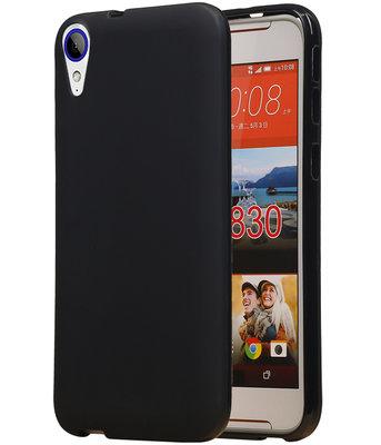HTC Desire 830 TPU back case hoesje Zwart