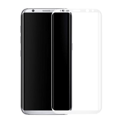 Wit Samsung Galaxy S8 Tempered Glass Screen Protector